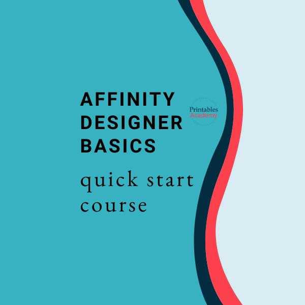 Affinity Designer Basics